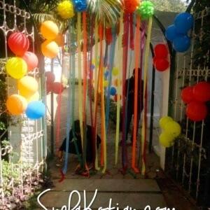 My Happy Caravan Balloon Arch
