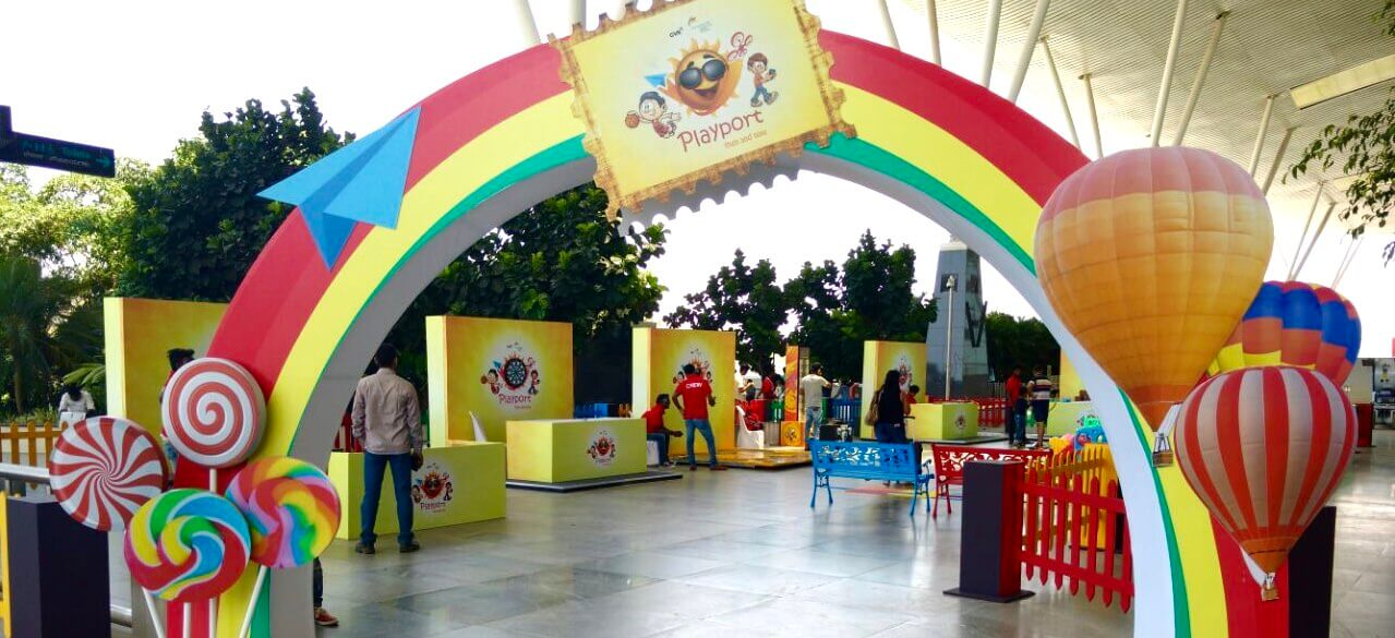 PlayPort at Kempegowda International Airport keeps kids happy while they wait Cover Image