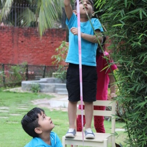 Kids Measuring Height