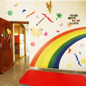 Colourful Classroom of Trio Tots HSR Layout