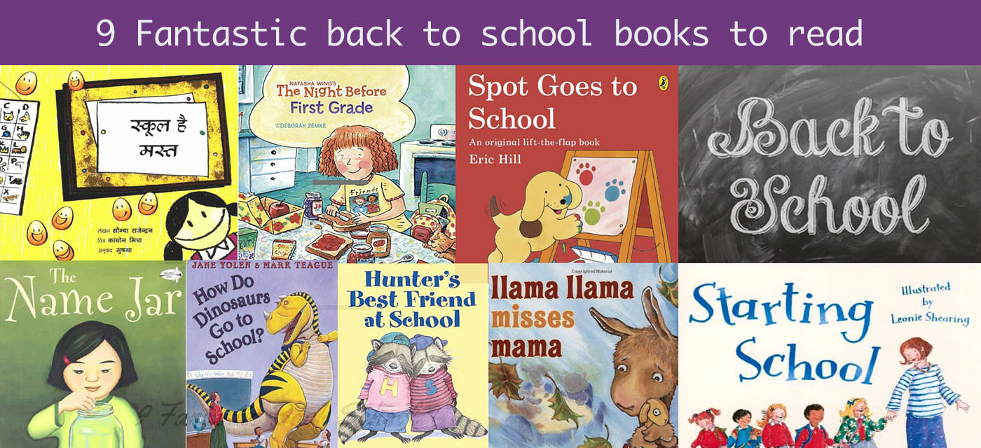 9 Fascinating children's books for getting back to school Cover Image
