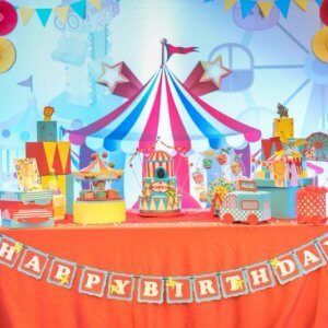 Blingz Circus Themed Party Decoration