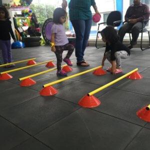 Hurdle Crossing at Play by Vitality