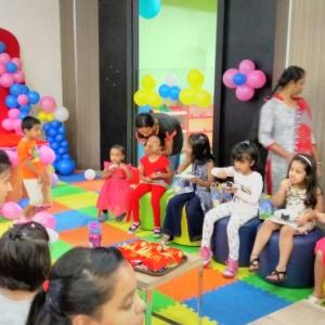 Kids Enjoying Birthday Treat at Awesome Place, Inorbit Mall