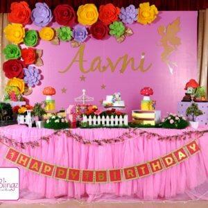 Flower Background for Birthday