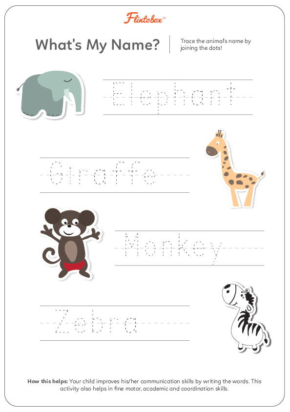 Jungle Animals Worksheet : Fantastic ways to introduce your child animals