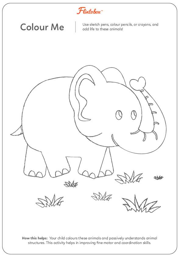 Jungle Animals Worksheet : Fantastic ways to introduce your child animals