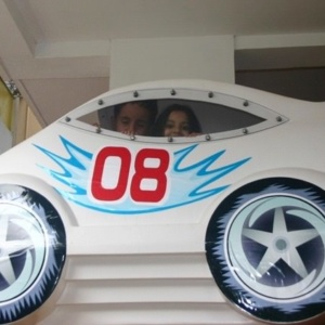 The Flying Car at Kidz Kampus