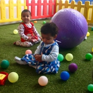 Infant Play area at Kidz Kampus