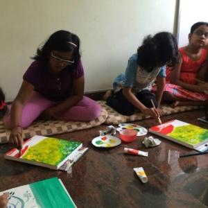 Painting Class at Art Beat