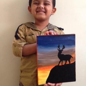 Junior artist at Art Beat