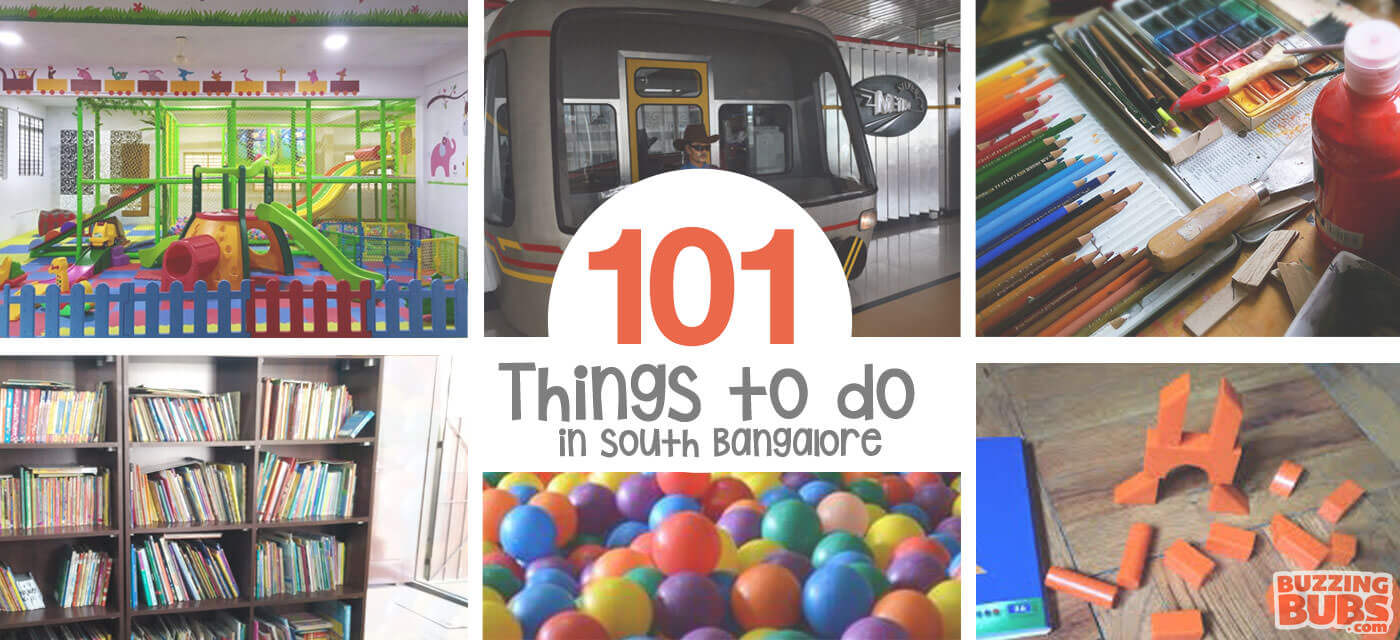 101 Fun things to do with kids in South Bangalore Cover Image