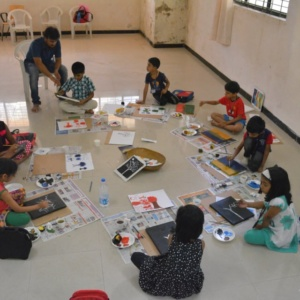 Drawing Class at Creative Minds