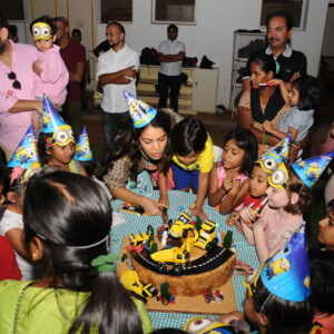 Birthday Celebration at Embassy International Riding School