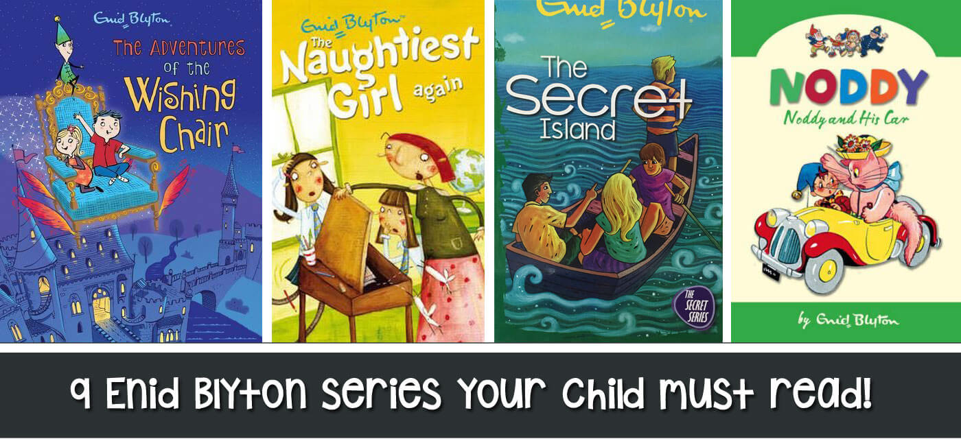 9 Enid Blyton series your child must read! Cover Image