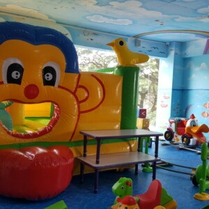 Bouncer for kids at Kidz Mania