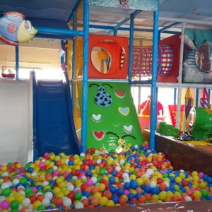 Ball Pool and Slides at Kidz Mania