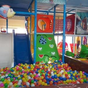 Ball Pool and Slides at Kidz Mania