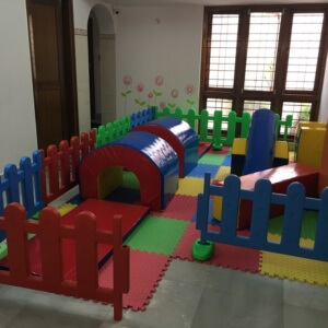 Soft Play Area at Little Lamps