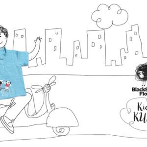 Blue Kurta by Love Black Sheep