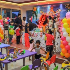 Birthday Party at Madagascar Kids