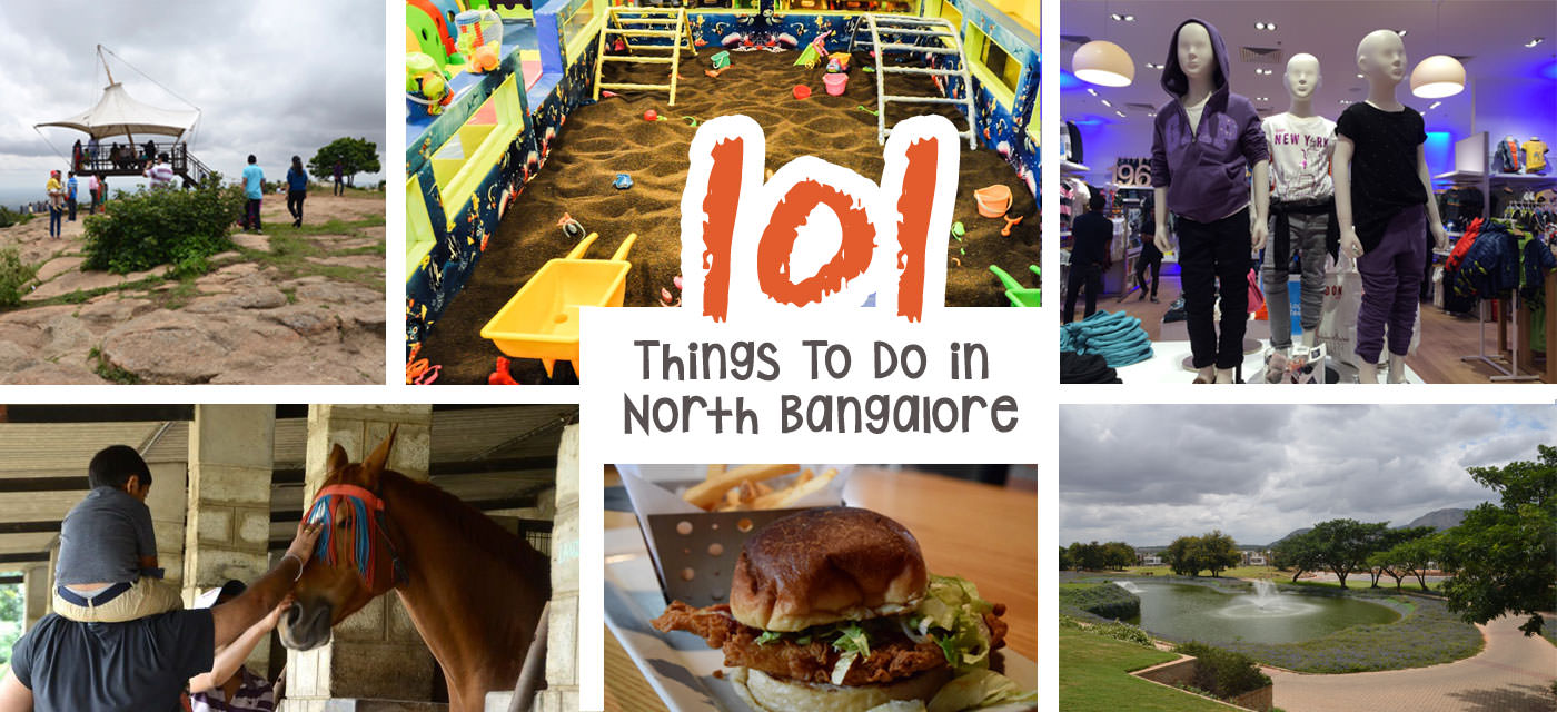 101 Things to do with kids in North Bangalore Cover Image