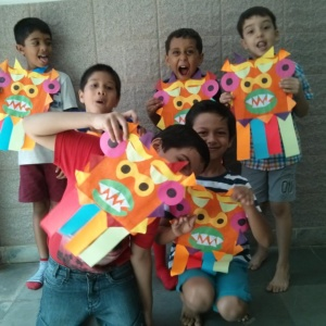 Mask Making Workshop for Kids