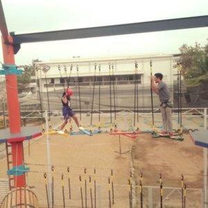 Ropeway fun at PlayFactory