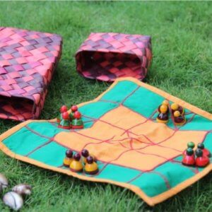 Chowka Traditional Game by Kavade Toyhive