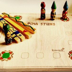 Pima Stick Traditional Game