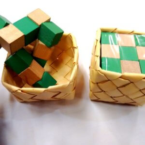 Traditional Game Made of Natural Material