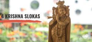 4 Simple Krishna slokas for children