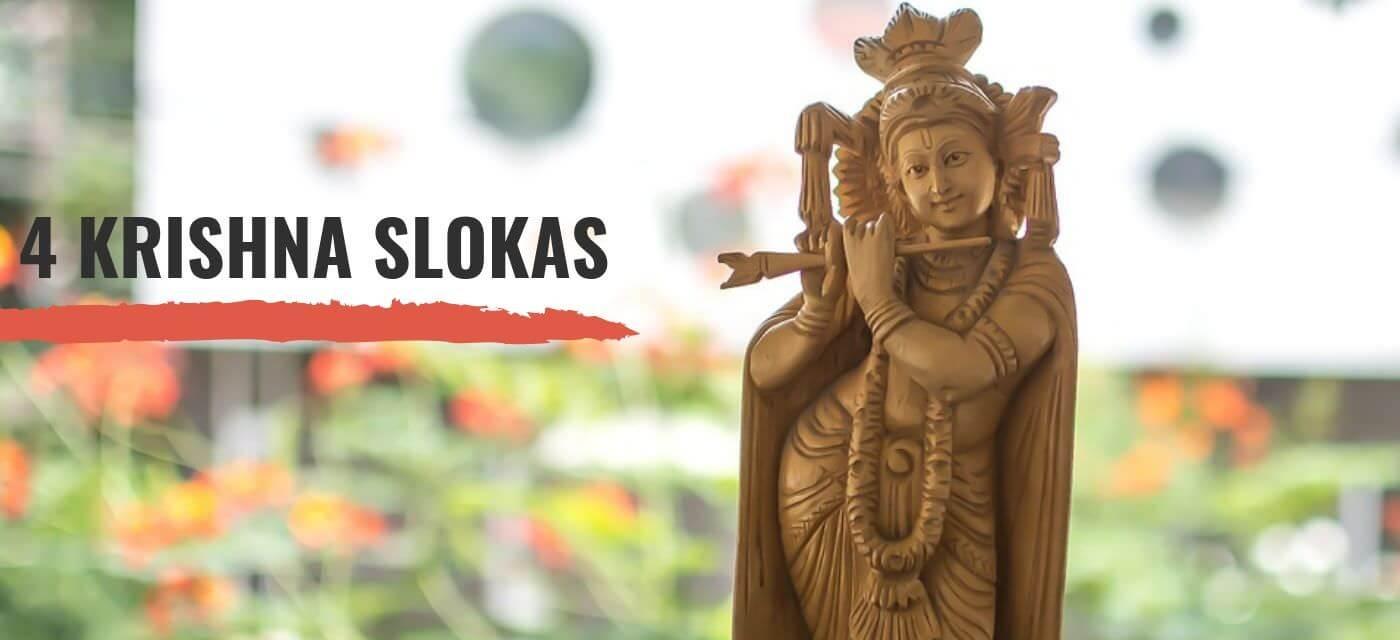 Featured Image Krishna Slokas