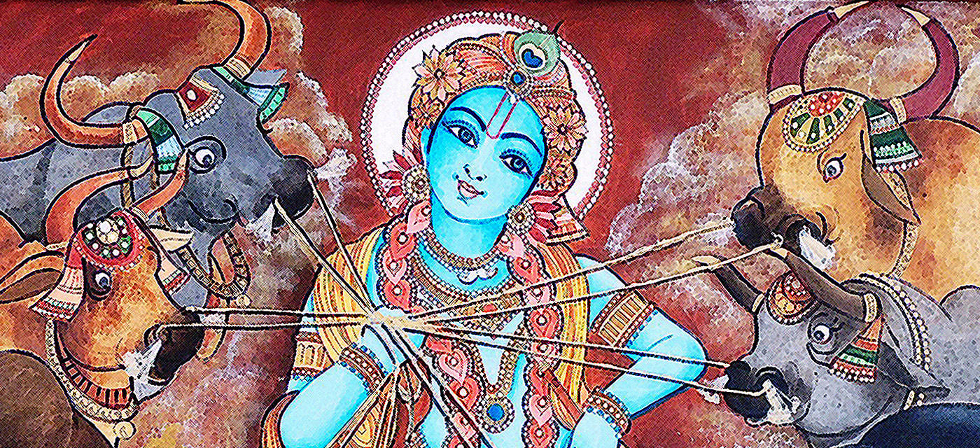 4 Favourite stories of Krishna as a child- Bala Leela Cover Image