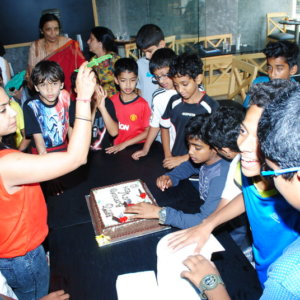 Birthday Party celebration at Play Factory