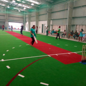 Indoor Cricket Fun at Play Factory
