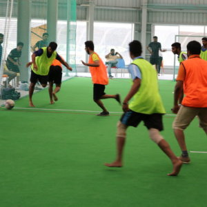 Indoor Football at Play Factory