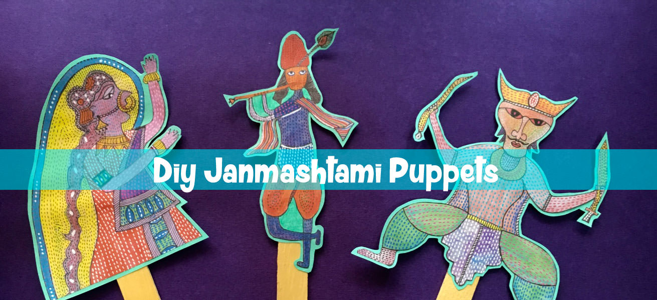 Krishna and Putana – DIY – Downloadable shadow puppets Cover Image