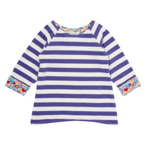 Reversible Stripe Shirt for Girls