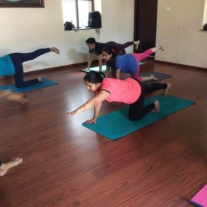 Yoga for Mums at The Arts Village