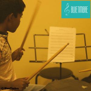 Badri playing Drums at BlueTimbre
