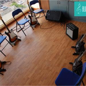 Guitar Room at BlueTimbre