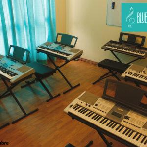 Keyboard Room at BlueTimbre