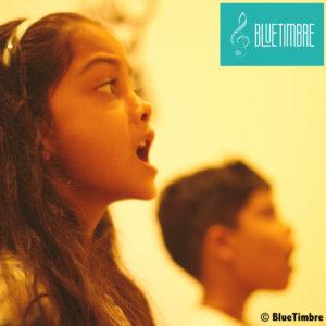 Vocal Session in Progress at BlueTimbre