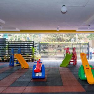 Play space at Kidoz Montessori