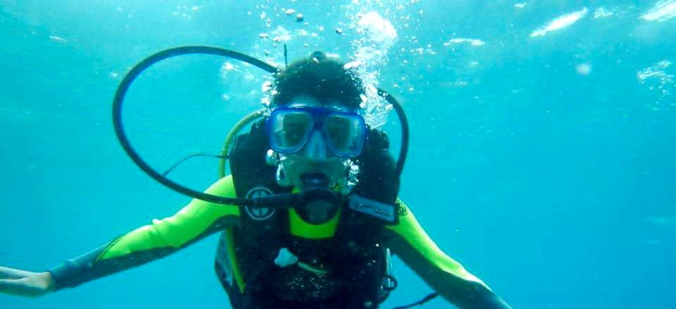 Scuba diving with kids and making memories Cover Image