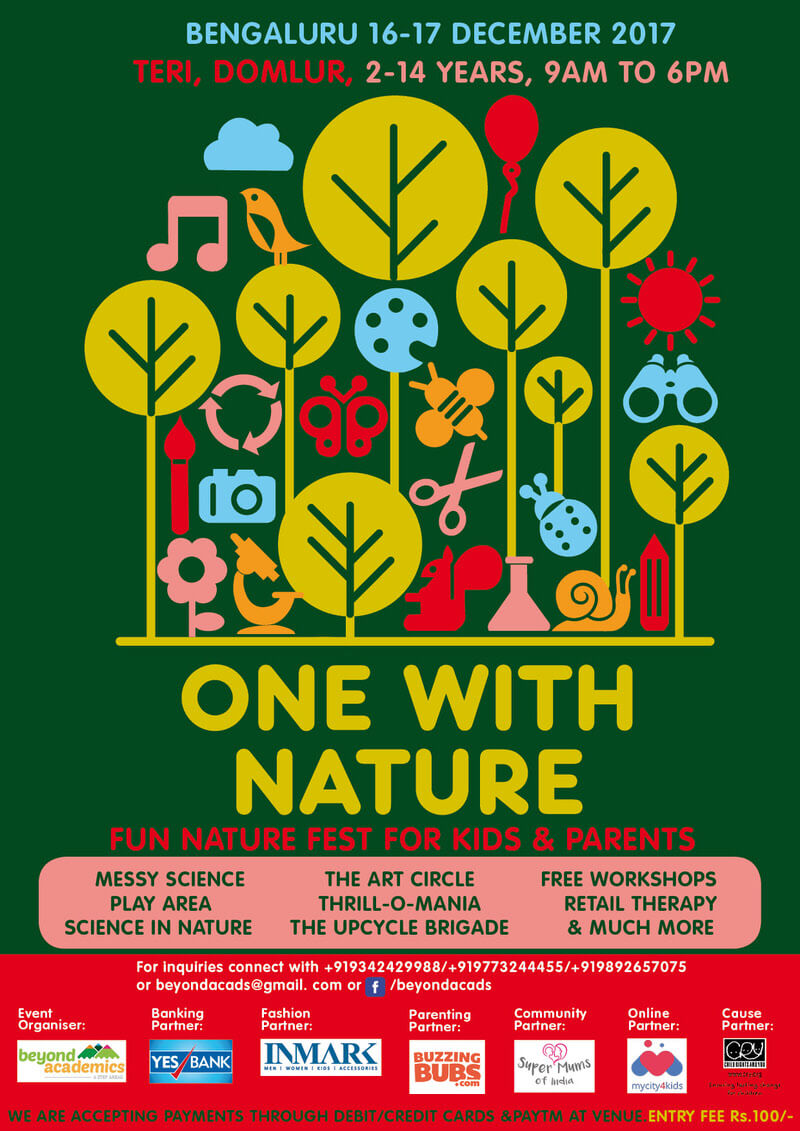 One With Nature 2017 Bangalore Edition Cover Image