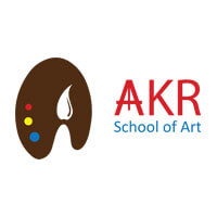 Logo of AKR School of Art, Bangalore