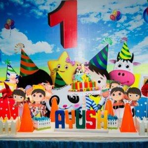 Birthday Backdrop for 1st Birthday