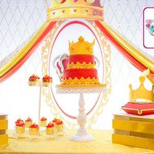 Prince Theme Birthday Party Decor